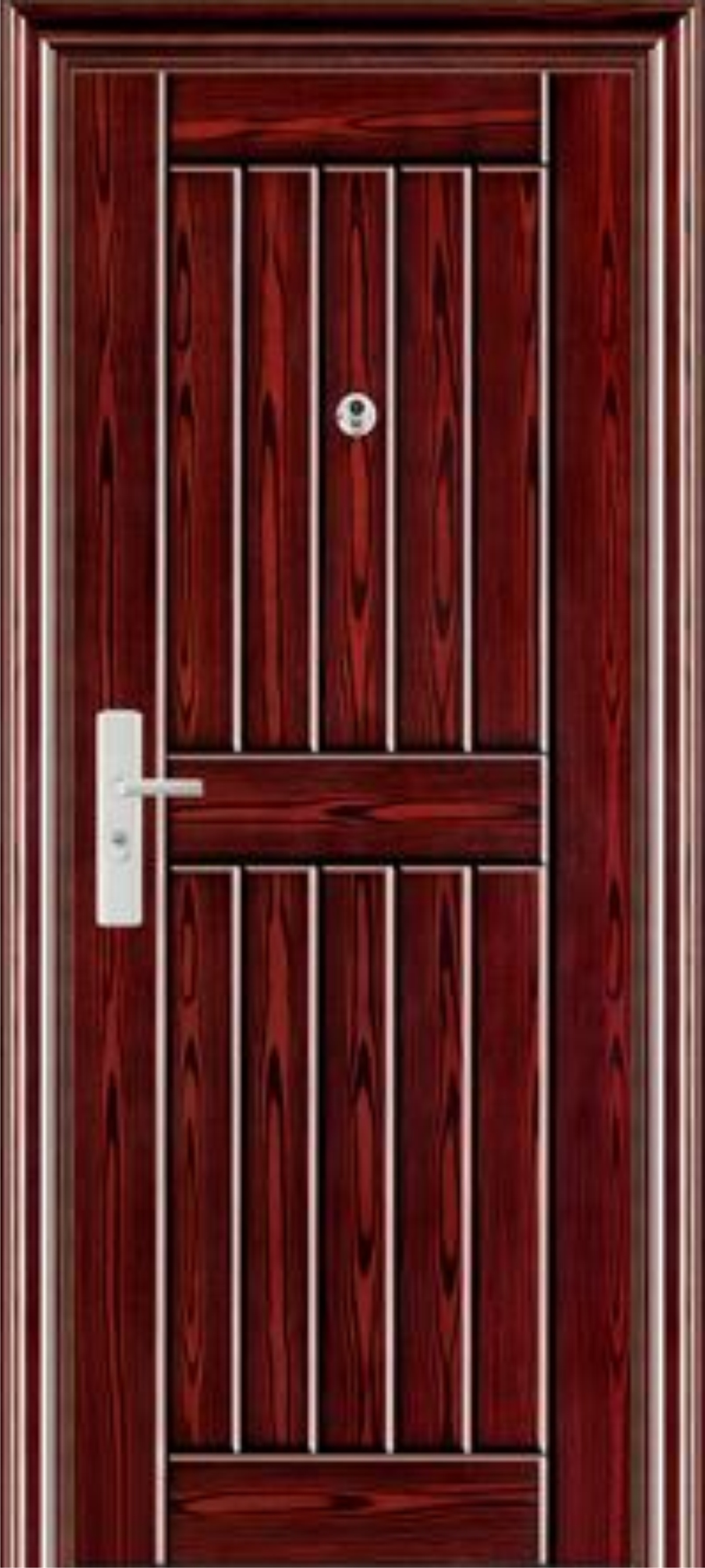 Single steel doors pionare enterprises ltd for Metal entry doors