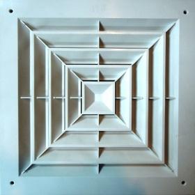 Air Diffuser/Ceiling Vent: 12